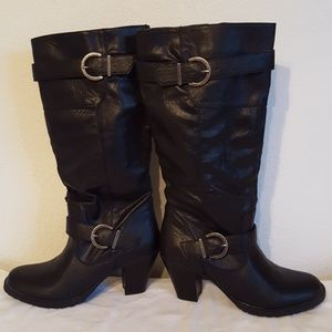 Boots tall Sonoma Life & style 7.5 M black
